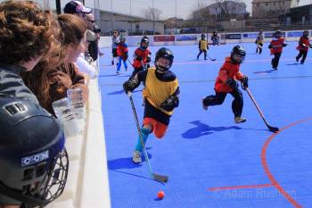 Ball Hockey is a great sport to keep your kids healthy & active